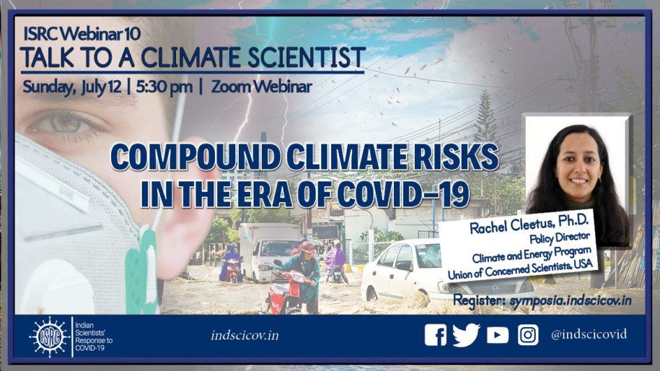 ISRC Webinar July12 - Talk to a Climate Scientist