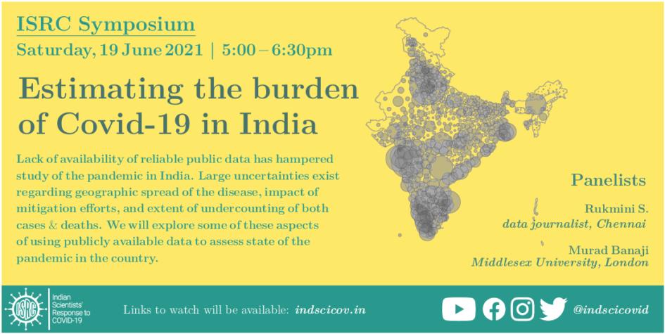 Estimating the Burden of COVID-19 in India